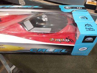 Cruel R C Electric Powered Racing Boat