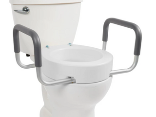 Vive Toilet Seat Cover With Handles