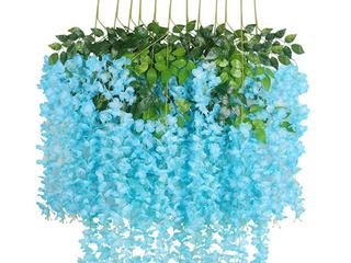 Artlines 3   12 Pack Blue Flowers