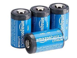 AmazonBasics lithium CR2 3 Volt Batteries   Pack of 4