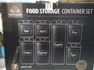 Chef s Path  Food Storage Container  7 Piece Set