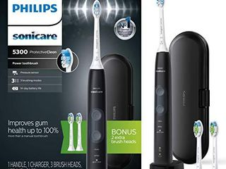 Philips Sonicare ProtectiveClean 5300 Rechargeable Electric Toothbrush  Black HX6423 34