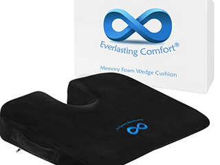 Everlasting Comfort  Memory Foam Wedge Cushion