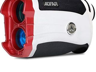 AOFAR Golf Rangefinder Slope on Off GX 2S Updated Version 600 Yards  AI Tracker Technology Range Finder  Slope Switch  Flag lock with Vibration  Waterproof