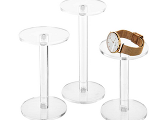 My Gift Set Of Three Round Display Risers Stands