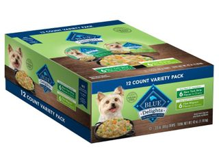 Blue Buffalo Divine Delights Filet NY Strip Cuts in Gravy Wet Dog Food Value Pack   12ct