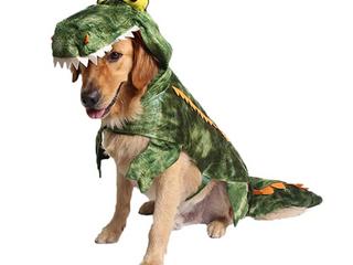 Coppthinktu Pet Alligator Costume Jumpsuit