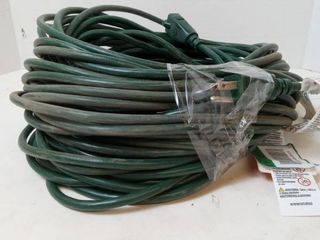 100ft Green Extension Cord