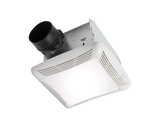 Broan NuTone 80 CFM Ceiling Bathroom Exhaust Fan with light  White