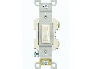 leviton RS115 WM AC Quiet Preferred Toggle Switches  120 Volts QTY  8