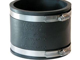 Fernco Inc  P1056 44 4 Inch Stock Coupling QTY 2