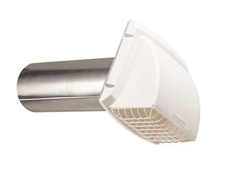 Everbilt Wide Mouth Dryer Vent Hood 3571115 In White