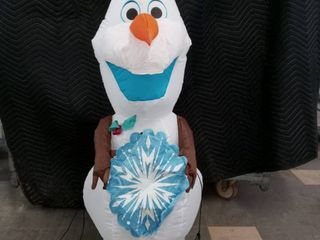 Disney s Frozen 4ft tall Olaf inflatable