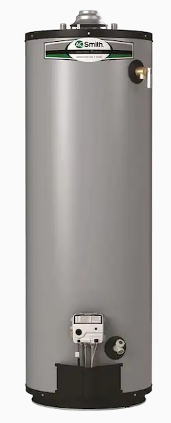 A O  Smith Signature Premier 50 Gallon Tall 12 year limited 40000 BTU Natural Gas Water Heater