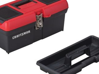 Craftsman 16 IN  lID COMPARTMENT TOOl BOX