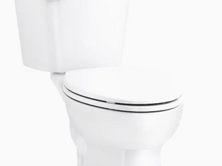 Sterling Garwind White WaterSense Elongated Comfort Height 2 Piece Toilet 12 in Rough In Size  ADA Compliant