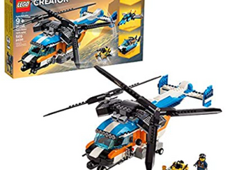 lego Creator 6287432 3 In 1 Twin Rotor Helicopter 31096 Kit   569 Pieces   Not Inspected