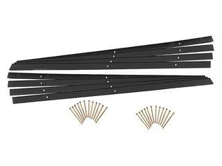 EasyFlex Aluminum landscape Edging Kit   24 ft  Black  23428863