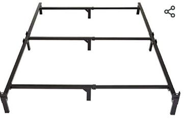 Amazon Basics 9 leg Support Bed Frame   Full  Not Inspected
