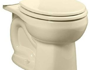 American Standard 3251D101 021 Colony Round Front Toilet Bowl  Standard Height  Bone