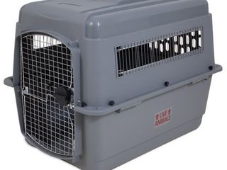 Petmate Sky Kennel for Pets from 50 to 70 Pound  light Gray