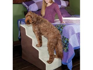 Pet Gear Easy Steps Deluxe Soft 4 Step Pet Stair