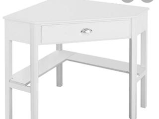 DDK Home Corner Desk White   Not Inspected