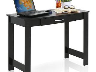 Furinno JAYA Writing Desk with Drawer  15108BKW