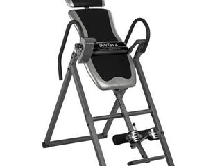 Innova Fitness ITX9600 Heavy Duty Deluxe Inversion Therapy Table   Not Inspected