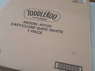 Toddleroo by North States 38 5  Wide Easy Close Baby Gate
