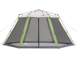 Coleman Screened Canopy Sun Shade 15x13 Tent with Instant Setup NOT FUllY INSPECTED
