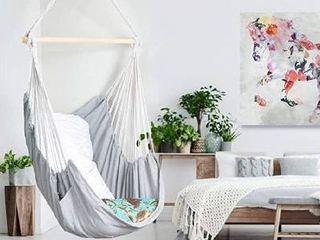 Qualific Hammock Chaira Hammock Seat  Max 330lbs  hammock With Hanging Kit  H