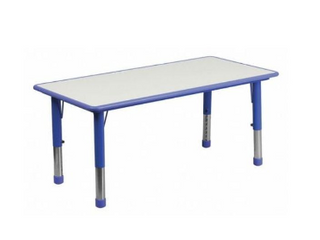 Flash Furniture Yu ycy 060 blue legs gg Adjustable Blue   Table Top Only