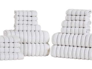 Superior Wave Organic Cotton Towels 16 Piece Set