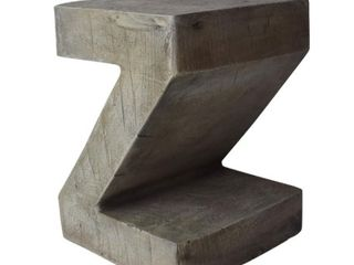 DeAngelo light Weight Concrete Side Table by Christopher Knight Home  Retail 77 98