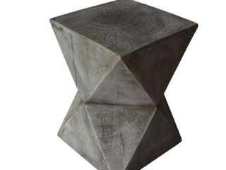 Bryleigh light Weight Concrete Side Table by Christopher Knight Home