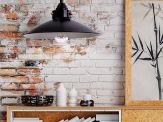 Carbon loft Kemper Bronze 1 light Metal Farmhouse Pendant