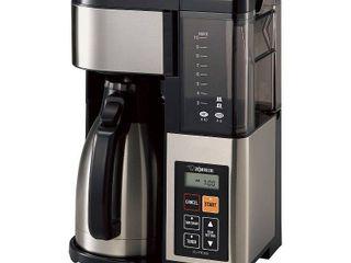 Zojirushi Fresh Brew Plus Thermal Carafe Coffee Maker  Black
