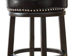 Best Master Furniture 24 inch Swivel Bar Stool  Set of 2  Retail 249 49