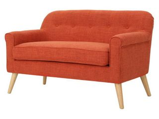 Mariah Mid Century Fabric loveseat by Christopher Knight Home  Retail 388 49