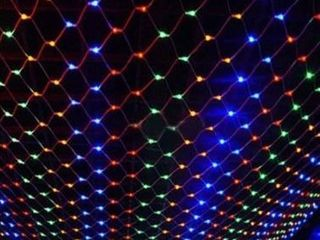 4 96 lED Net Grid String light Decorate Garden Fairy light Christmas Wedding Party Holiday light US Plug