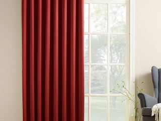 Sun Zero Grant 100  x 84  Grommet Top Patio Curtain Panel