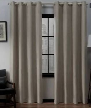 Porch   Den Sugar Creek Grommet Top loha linen Window Curtain Panel Pair