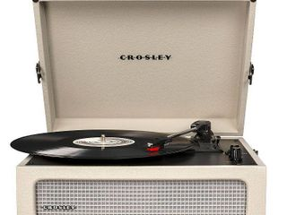 Crosley Voyager Turntable   Dune