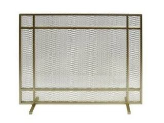 Cabarrus Modern Single Panel Fireplace screen by Christopher Knight Home  Retail 117 49
