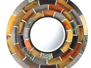 The Curated Nomad Round Decorative Wall Mirror  Retail 100 99
