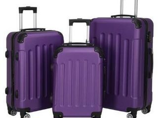 large Capacity Traveling Storage Suitcase Trolley Case luggage Set of 3  Retail 109 99