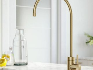 Purita Drinking Water Dispenser Beverage Kitchen Faucet in Brushed Gold