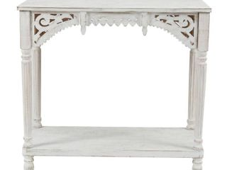 End Console Table White