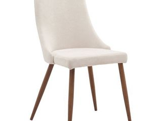 WHI Fabric Dining Side Chair with Spindle legs   Set of 2